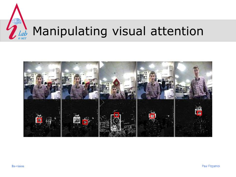 Paul Fitzpatrick lbr-vision Manipulating visual attention
