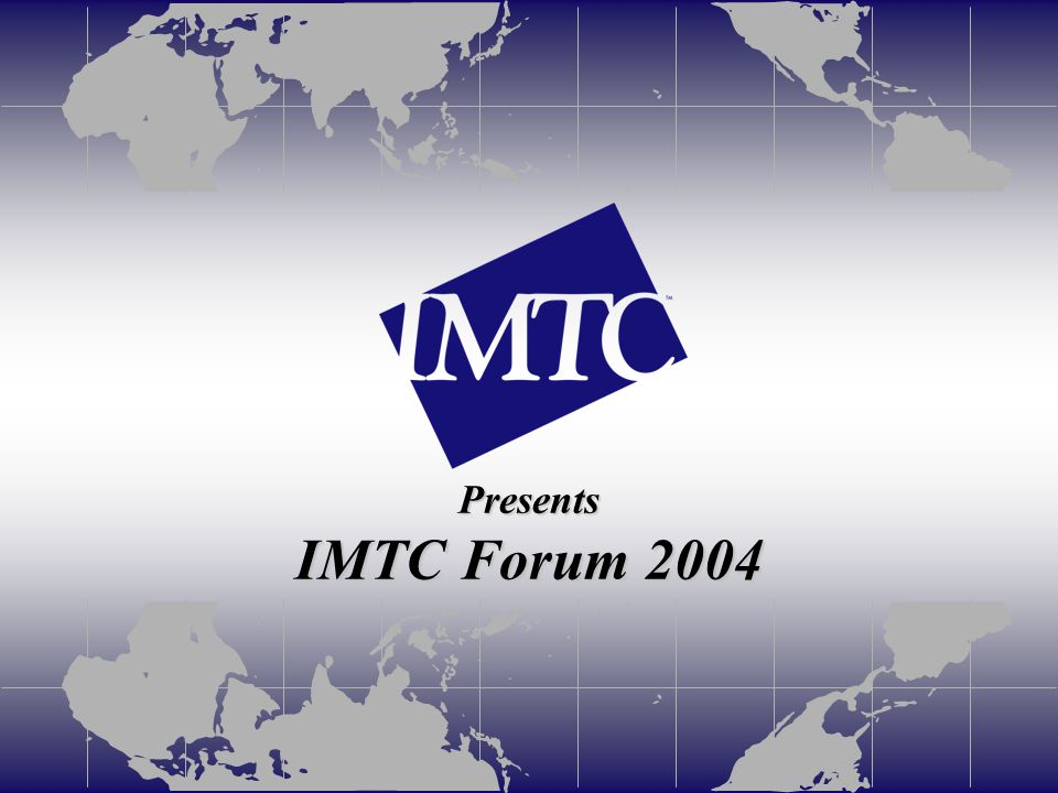 IMTC Forum – May 2004 – San Jose, California Measure of (1) Measure of Video Telephony popularization (1) 1. Preparation of free V-live contents ◆「 DoCoMo Channel 」 ・ Business News : Economic News, Market Information, etc.