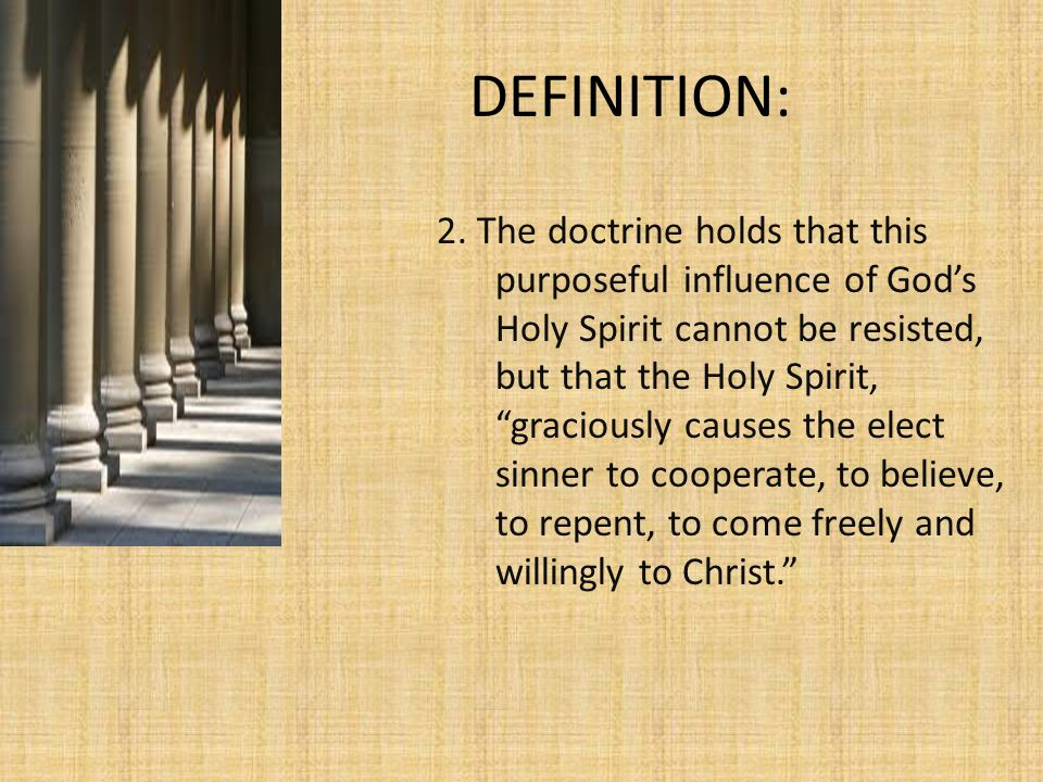 OBJECTIONS TO EFFICACIOUS GRACE-CONT'D d.v.