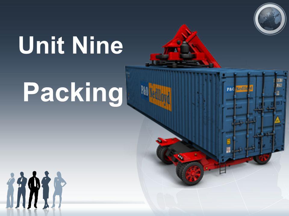 Unit Nine Packing