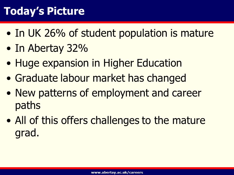 www.abertay.ac.uk/careers A level playing field.