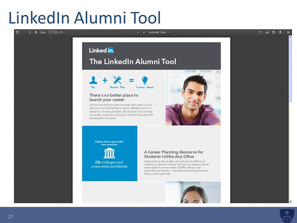 LinkedIn Alumni Tool 27