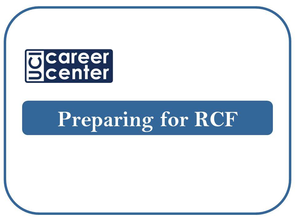 Preparing for RCF
