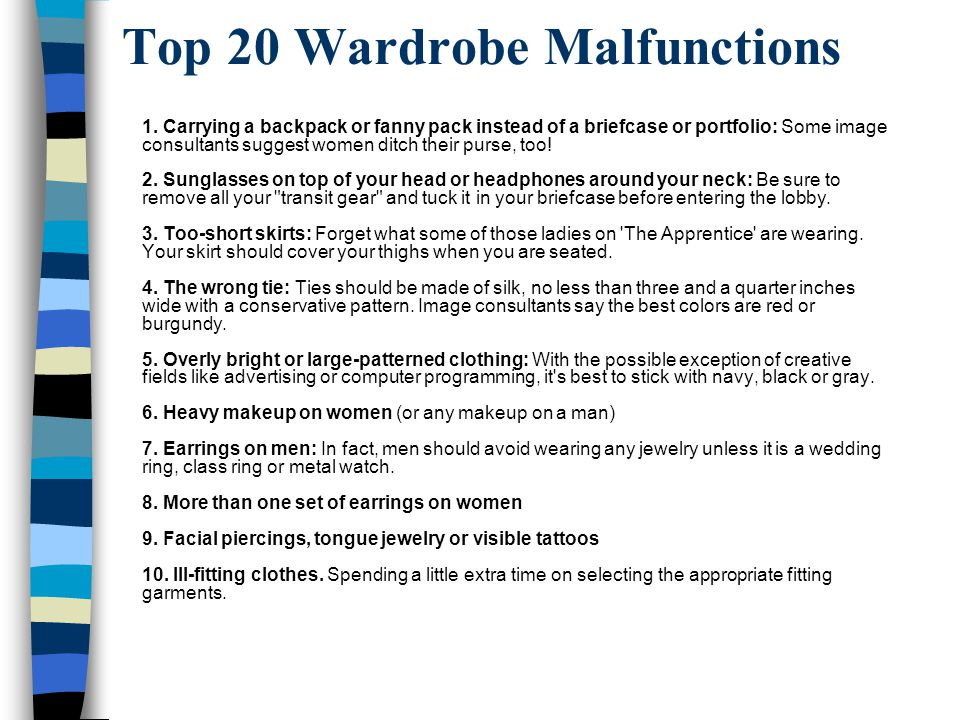 Top 20 Wardrobe Malfunctions 1.