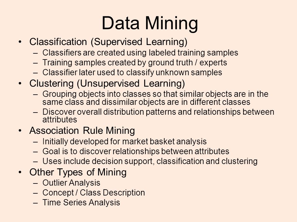 Models/ types Trade-off between Accuracy and Understandability Models range from easy to understand to incomprehensible –Decision trees –Rule induction –Regression models –Neural Networks 4 HarderHarder