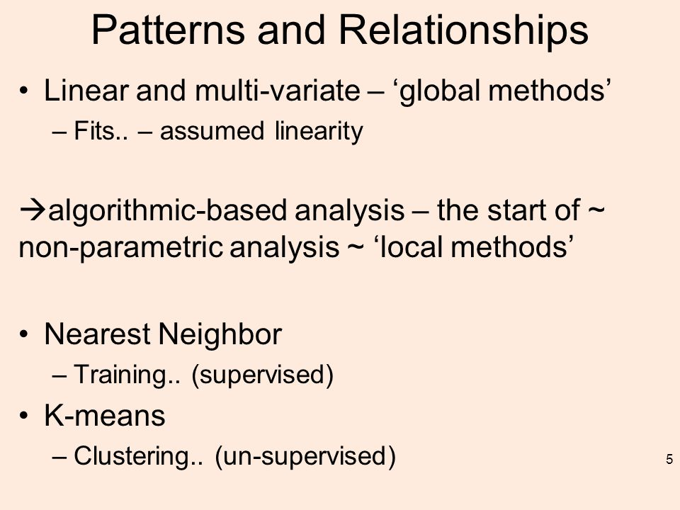 Algorithm The algorithm on how to compute the K-nearest neighbors is as follows: –Determine the parameter K = number of nearest neighbors beforehand.