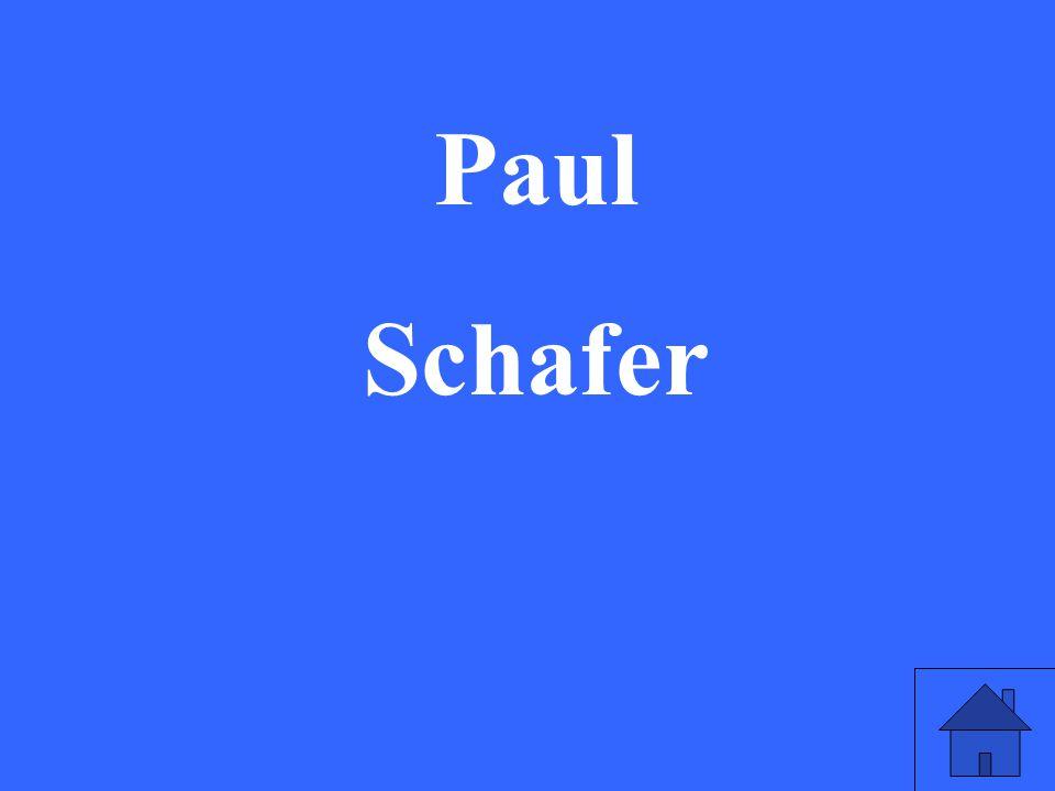 Paul Schafer