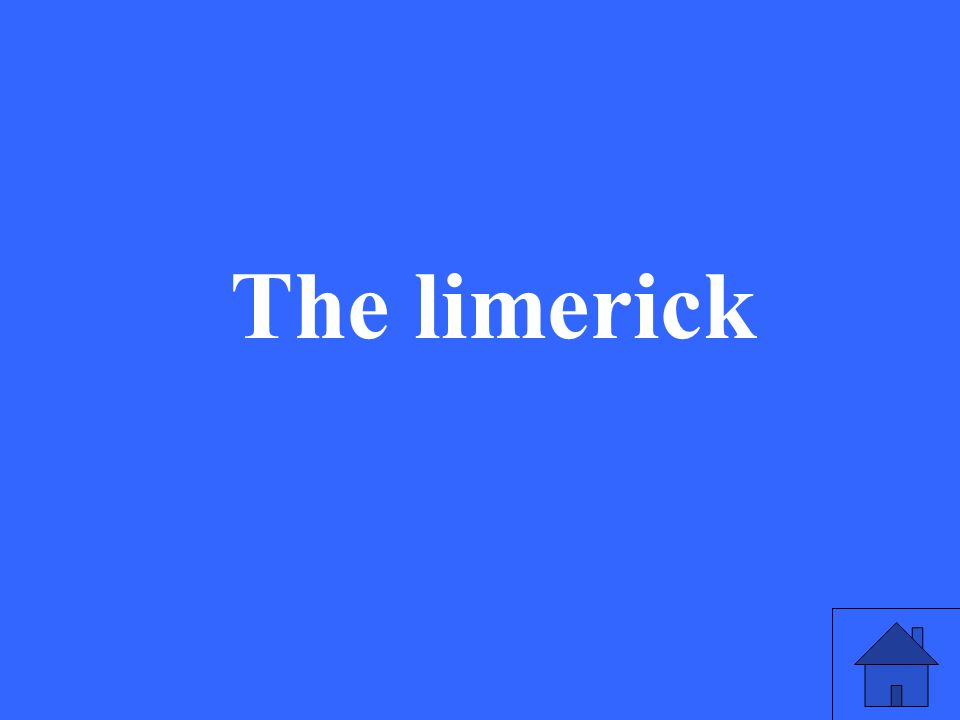 The limerick