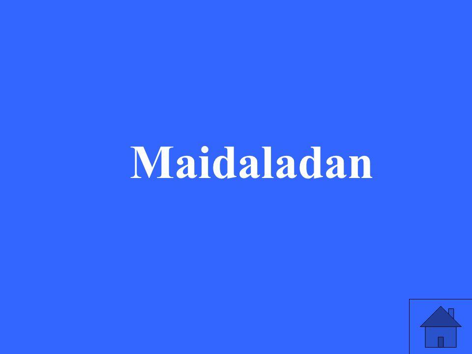 Maidaladan
