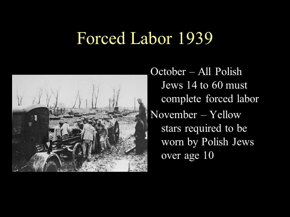 1940 -Auschwitz is built Jan – Auschwitz is begun - Julius Streicher - ...The time is near when a machine will go into motion which is going to prepare a grave for the world s criminal - Judah - from which there will be no resurrection.