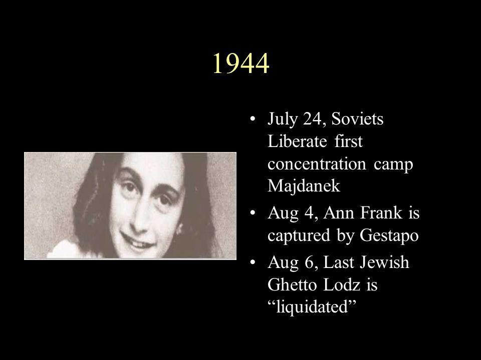 Himmler Covers Up Nov 25, As Soviets approach Himmler orders destruction of crematories Oskar Schindler saves 1200 Jews by moving them to Brunnlitz