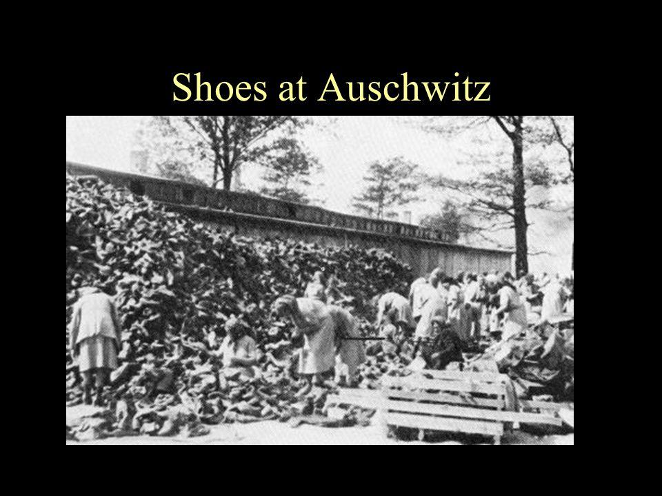 Shoes at Auschwitz