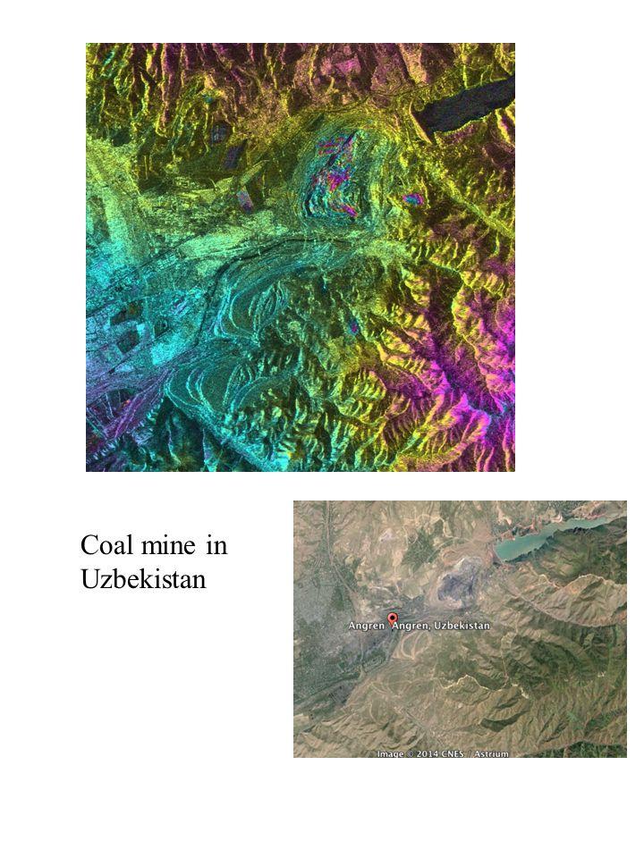 Coal mine in Uzbekistan