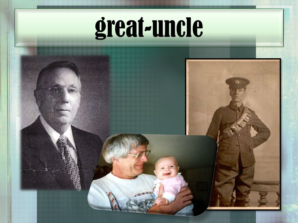 great-uncle