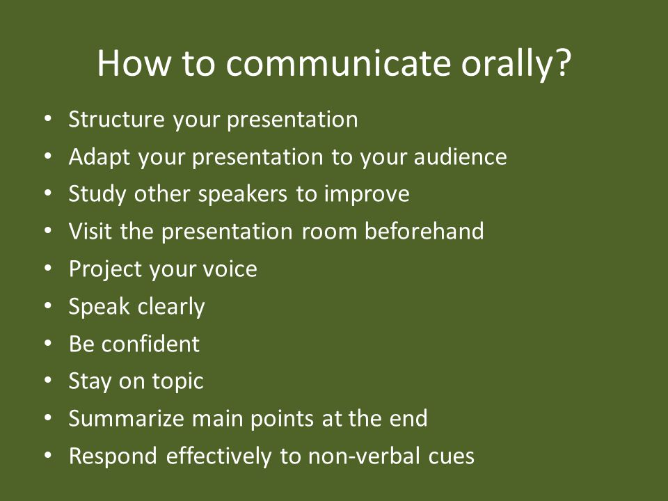 Structure your Presentation More fluid for you and audience Your message is passed more effectively