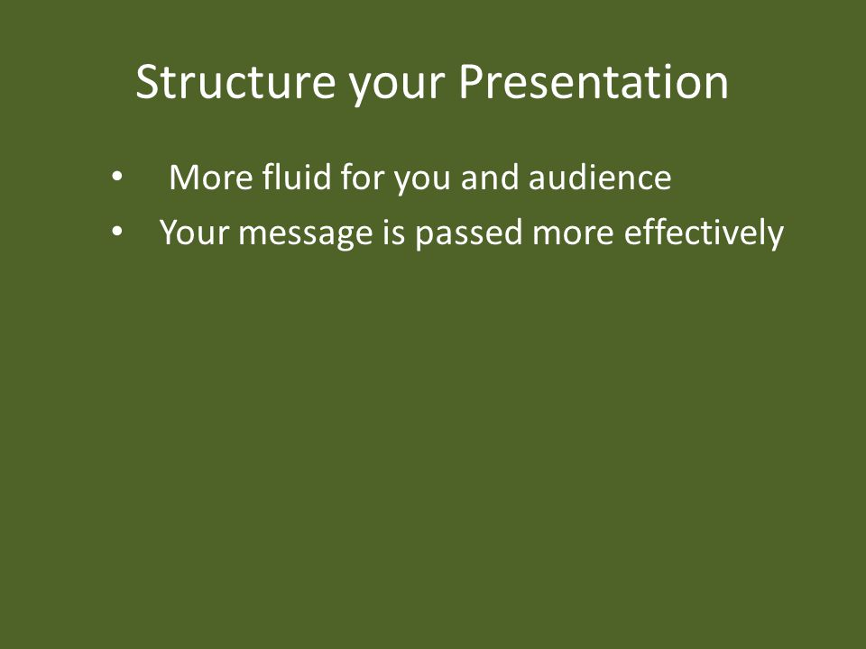 Adapt your presentation for the audience Knowing your audience is the key element Make it so they can understand Captivate your audience