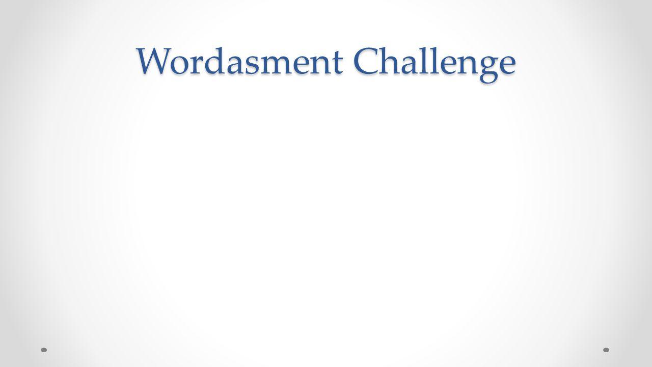 Wordasment Challenge