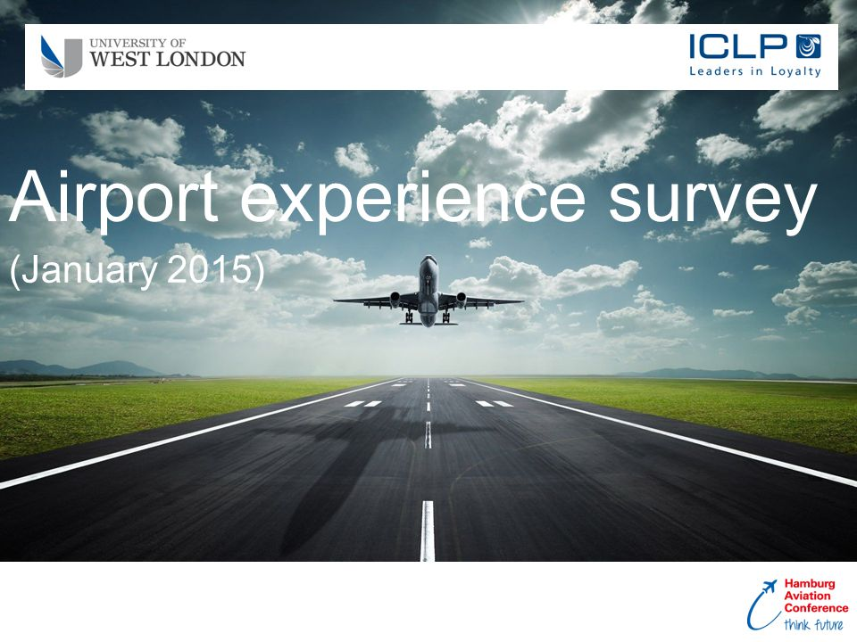 Airport experience survey (January 2015)