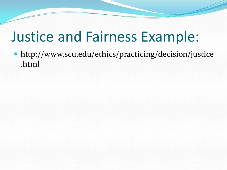 Who Influenced the Development of Justice and Fairness?