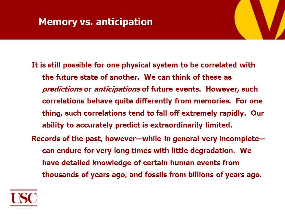 Memory vs.