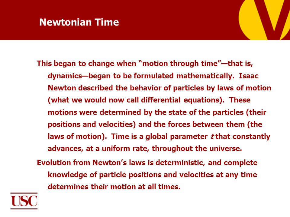 The other possibility is that the reference time T could be a future condition, rather than an initial condition.