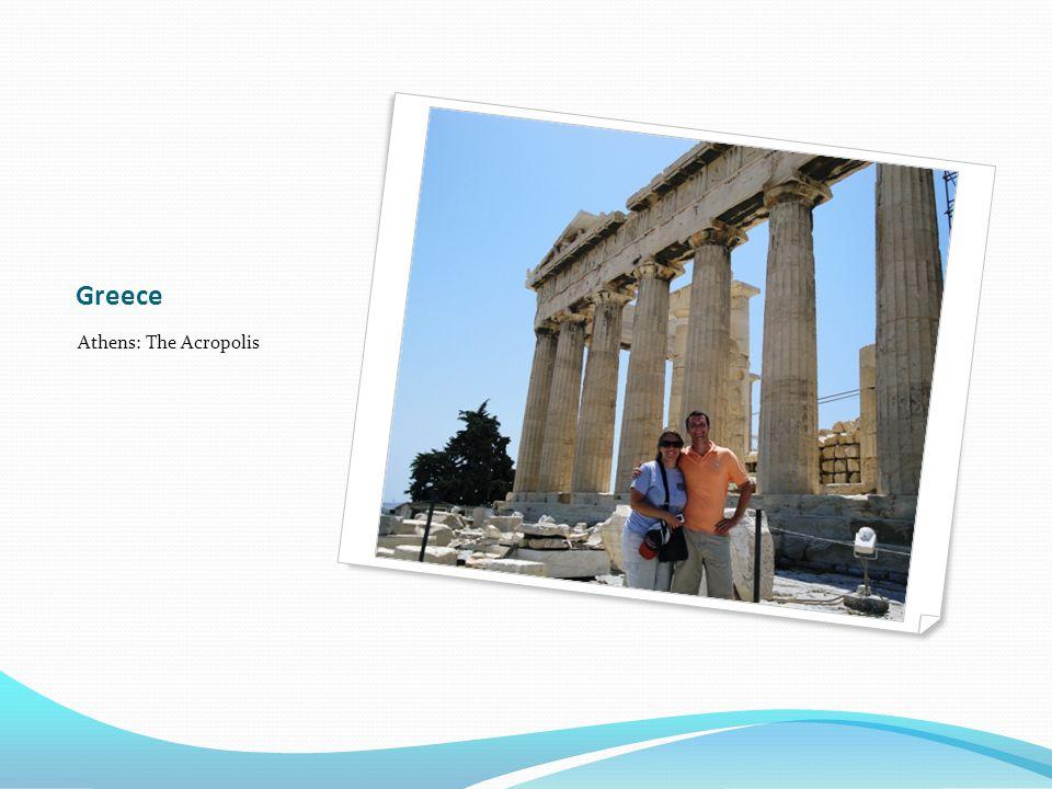 Greece Athens: The Acropolis