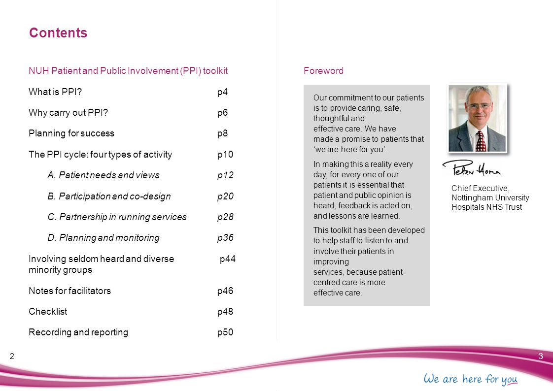What is PPI.What is Patient and Public Involvement.