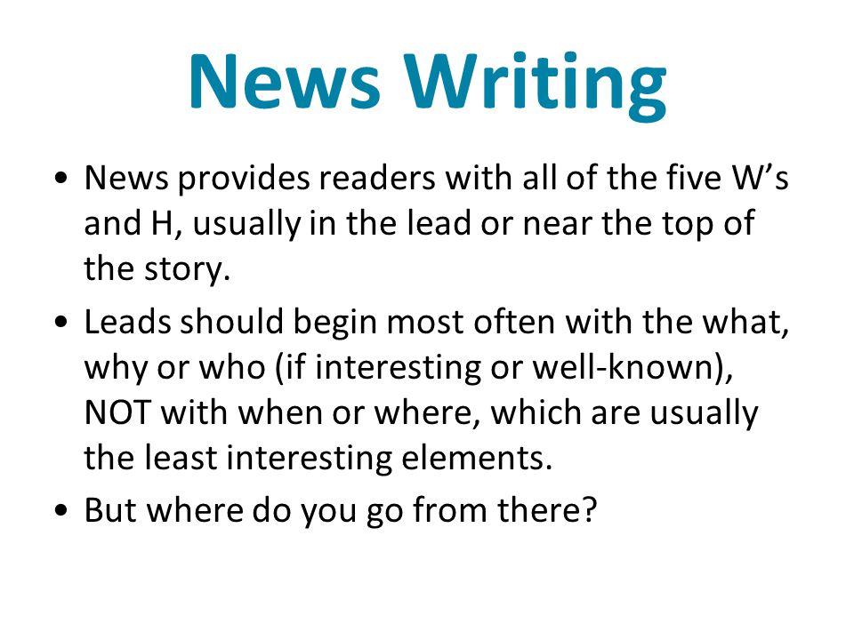 Pitfalls to Avoid ** ➢ Editorializing.