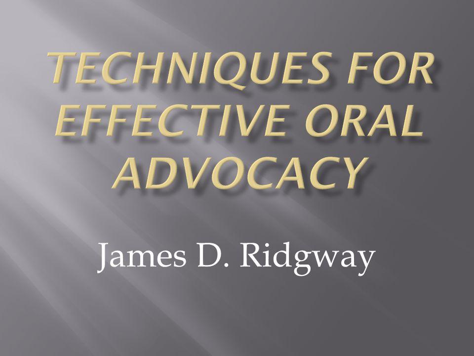 James D. Ridgway