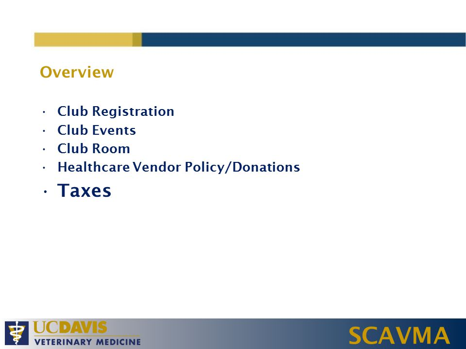 SCAVMA Symposia All events offering Continuing Education Credit Must contact Dr.
