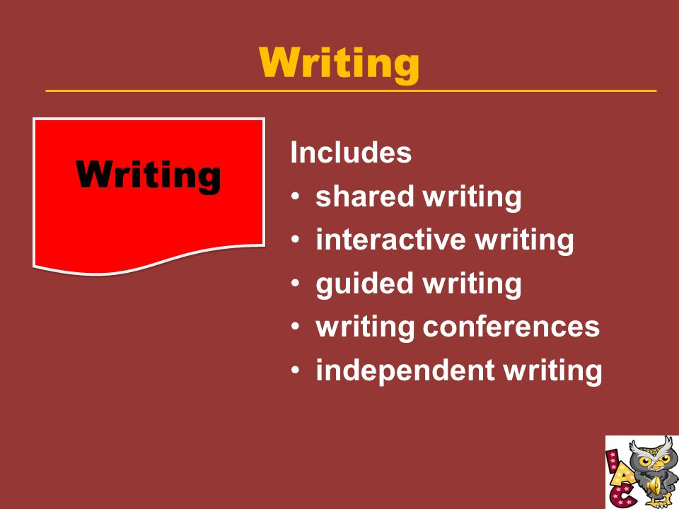 Balanced Literacy Framework Independent Reading Writing Balanced Literacy