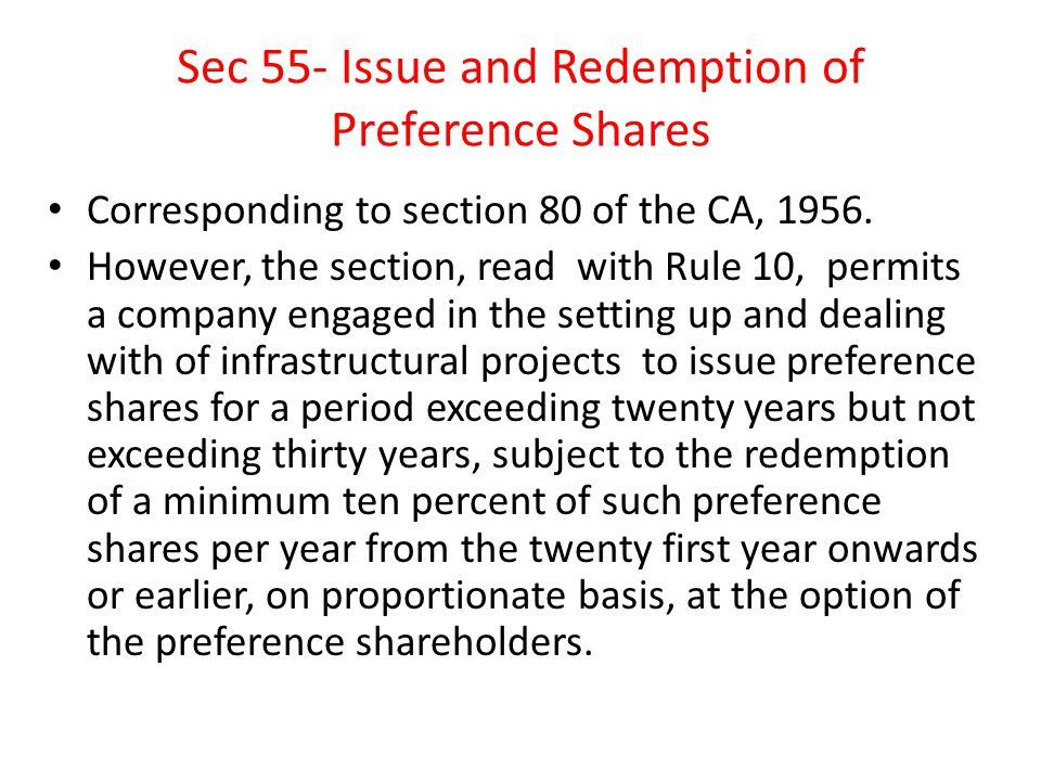 Sec 56- Transfer and Transmission Corresponding to sections 108,109,110 and 113 of the CA, 1956.