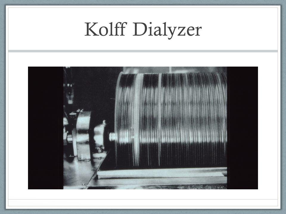 Kolff Dialyzer