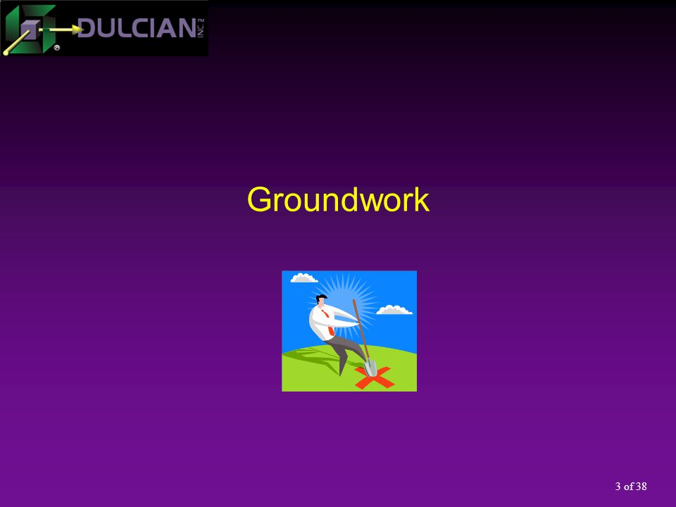 3 of 38 Groundwork