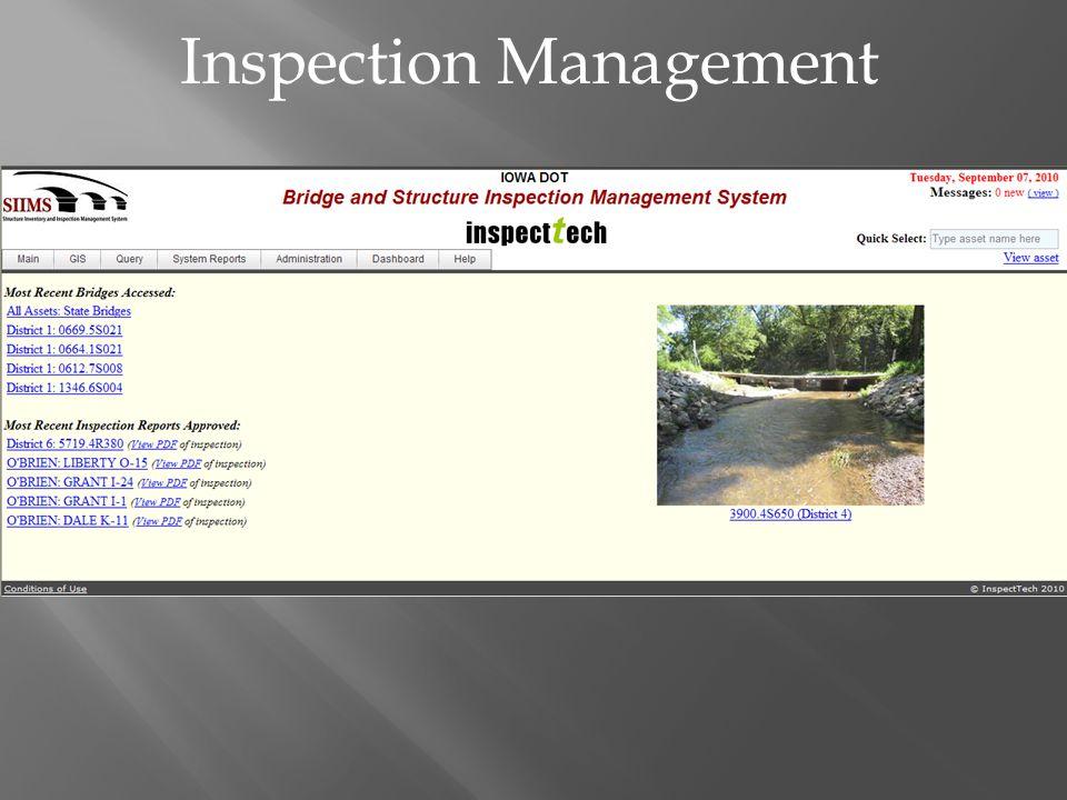 Inspection Management
