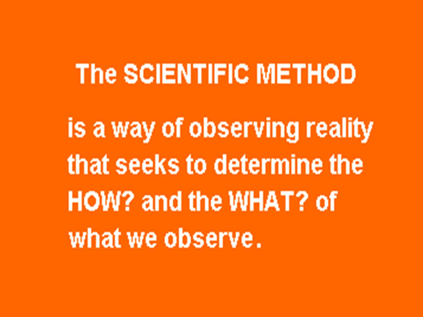 The advantages of the scientific method in the search 1-The prompt investigation behind the real causes of the events and phenomena.