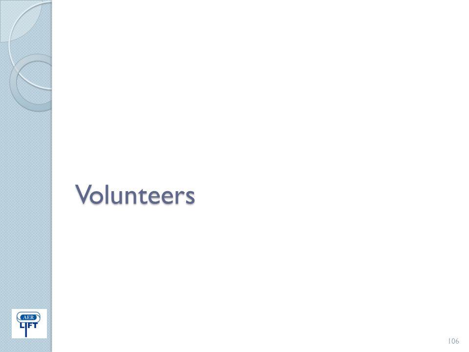 Volunteers 106