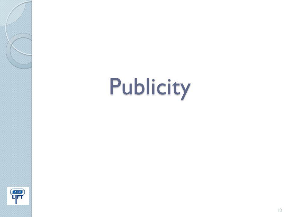 Publicity 18