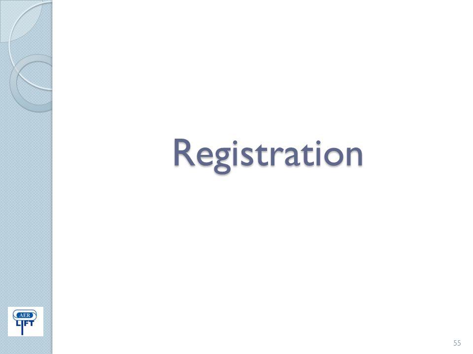Registration 55