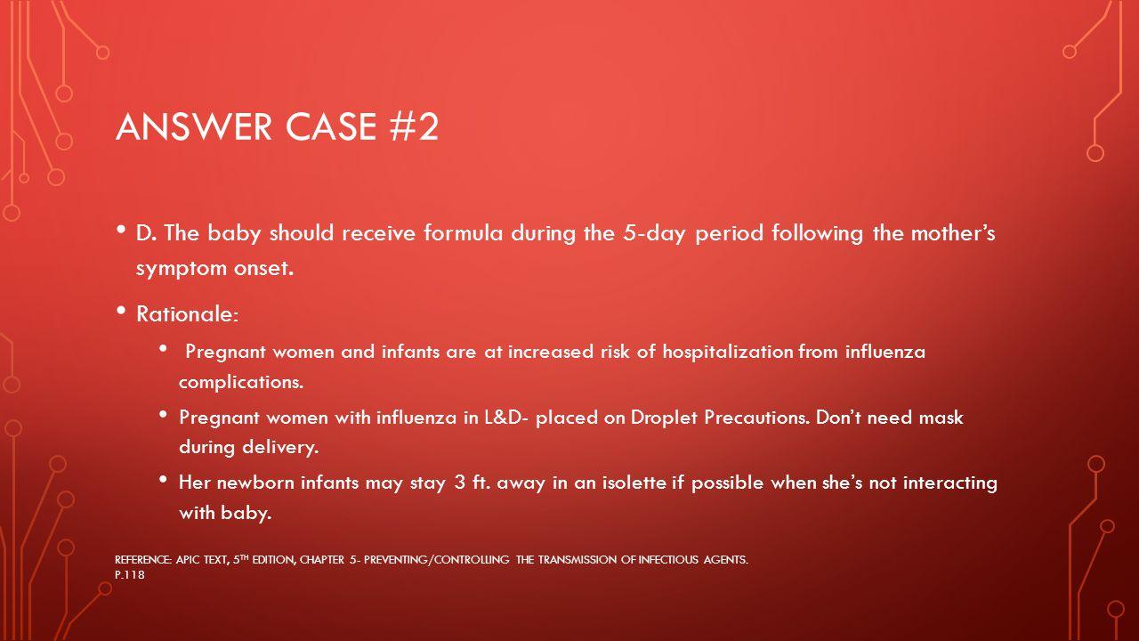 ANSWER CASE #2 D.