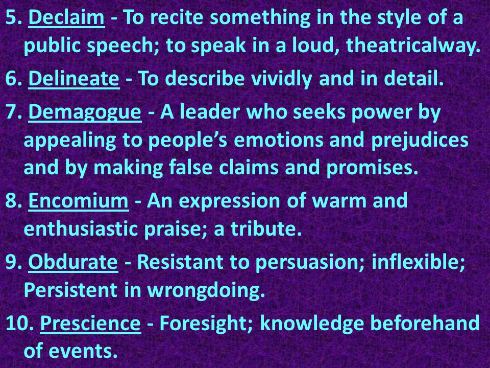 11.Protagonist - the chief character in a drama or story.