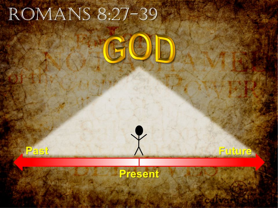 Romans 8:27-39 PastFuture Present