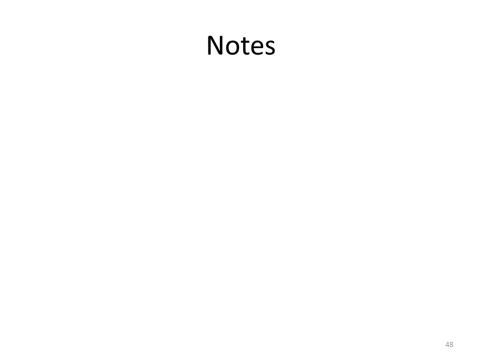 Notes 48