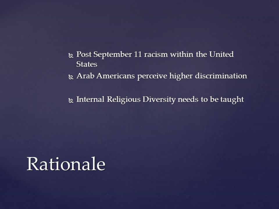  The Purpose of this study is to determine what factors affect the attitudes and beliefs of U.S.