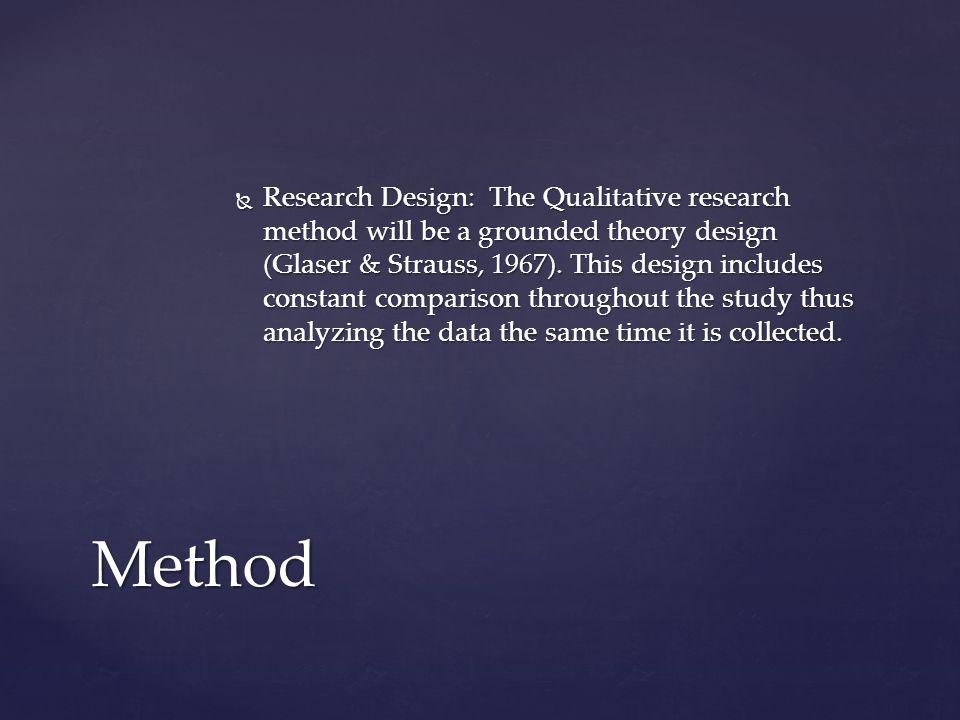  The sampling method proposed is purposeful sampling.