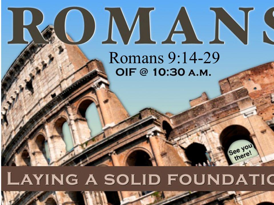 Romans 9:14-29