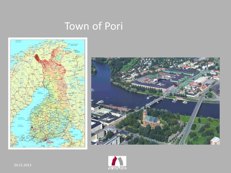 Town of Pori 20.11.2013