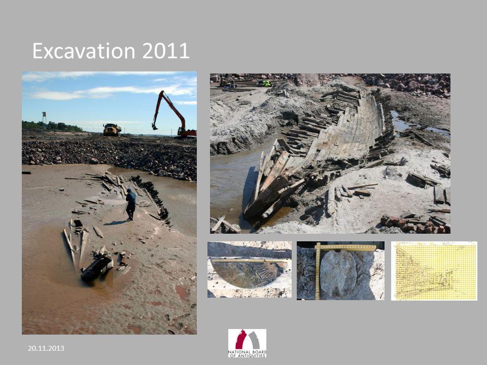 Excavation 2011 20.11.2013