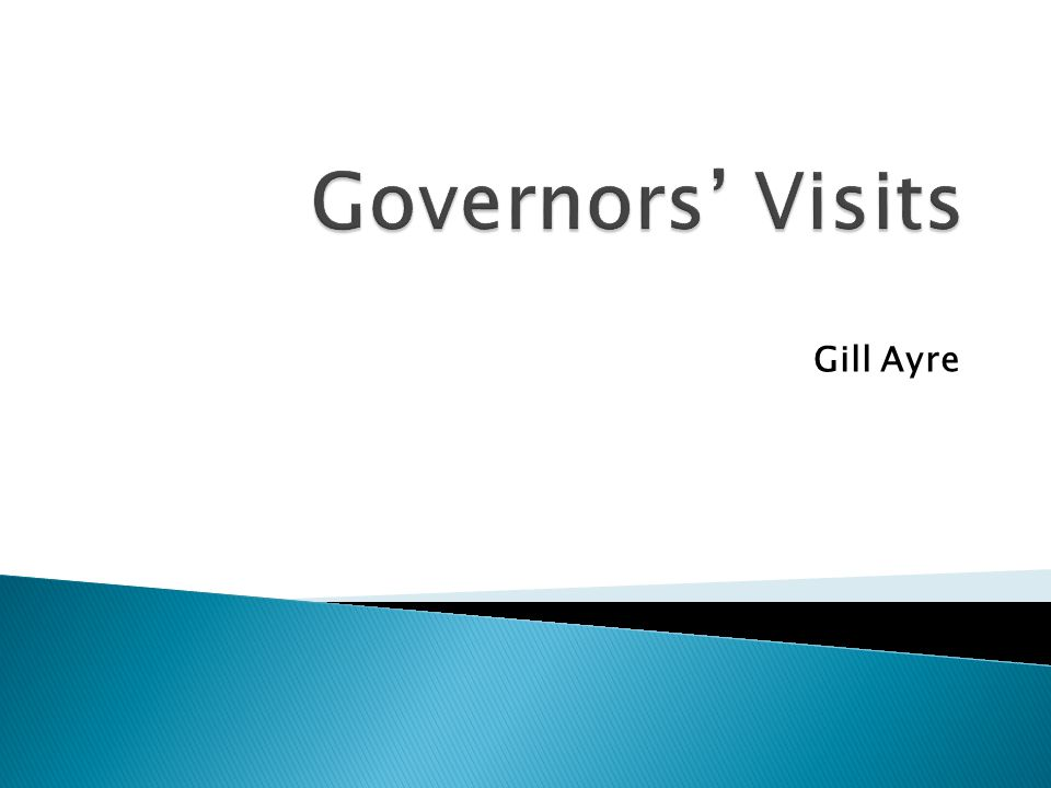 The role of governors has changed beyond recognition over the past few years.