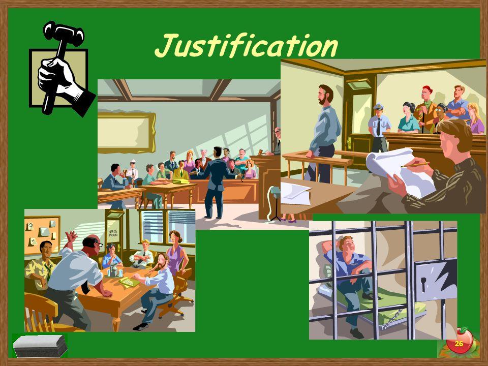 Justification 26